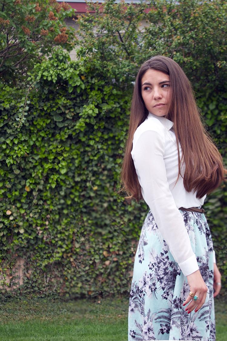chiffon blouse