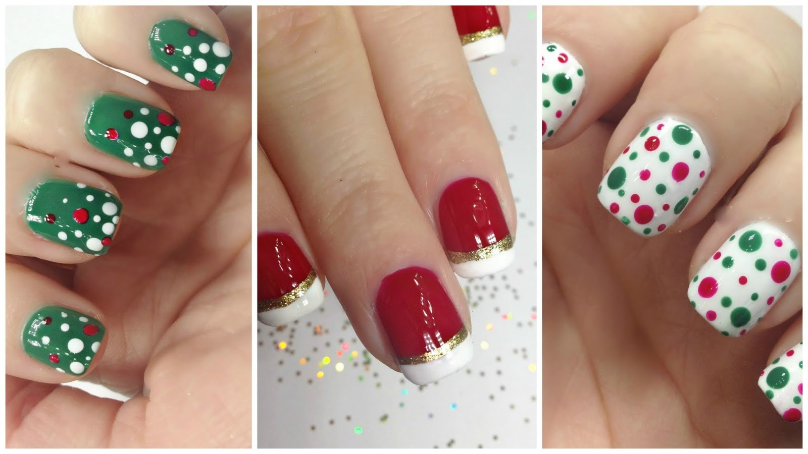 Nail art designs easy christmas nail designs for beginners at home step by step images solutioingenieria Gallery