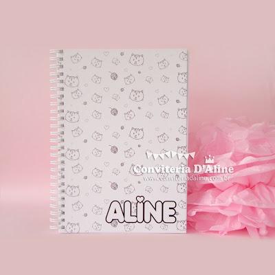 caderno personalizado para presente