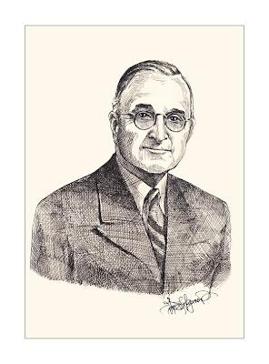 Harry S. Truman, the USA president
