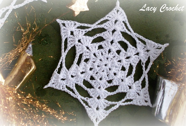 Crochet Snowflake : crochet snowflake