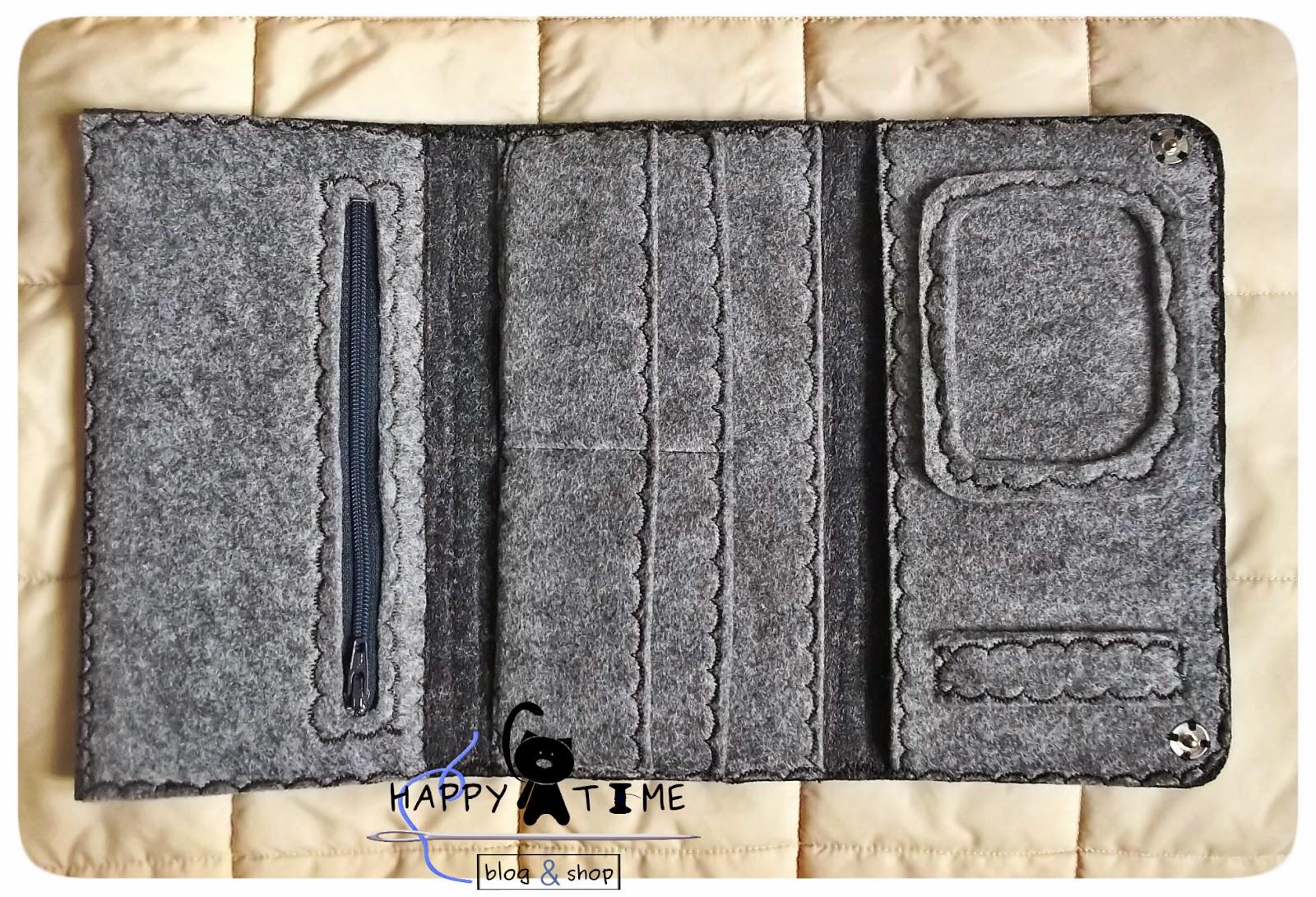 portfel z filcu