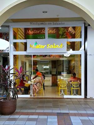 Mister Salad: Fachada da Loja so Shopping Paseo Itaigara