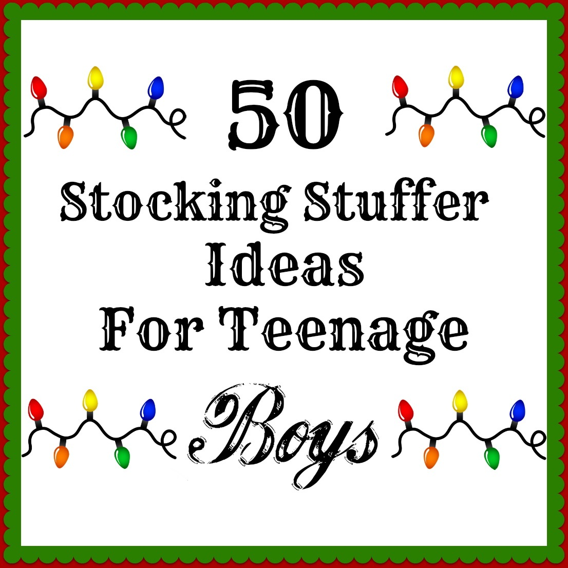 Silver Boxes 50 Stocking Stuffers For Teenage Boys
