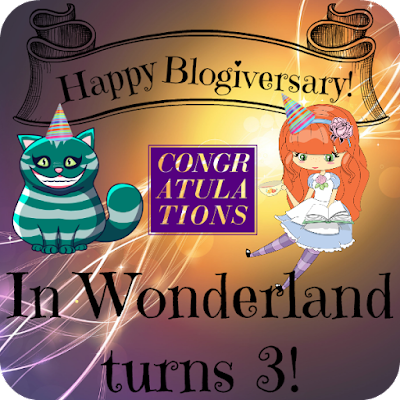 In Wonderland Turns 3!