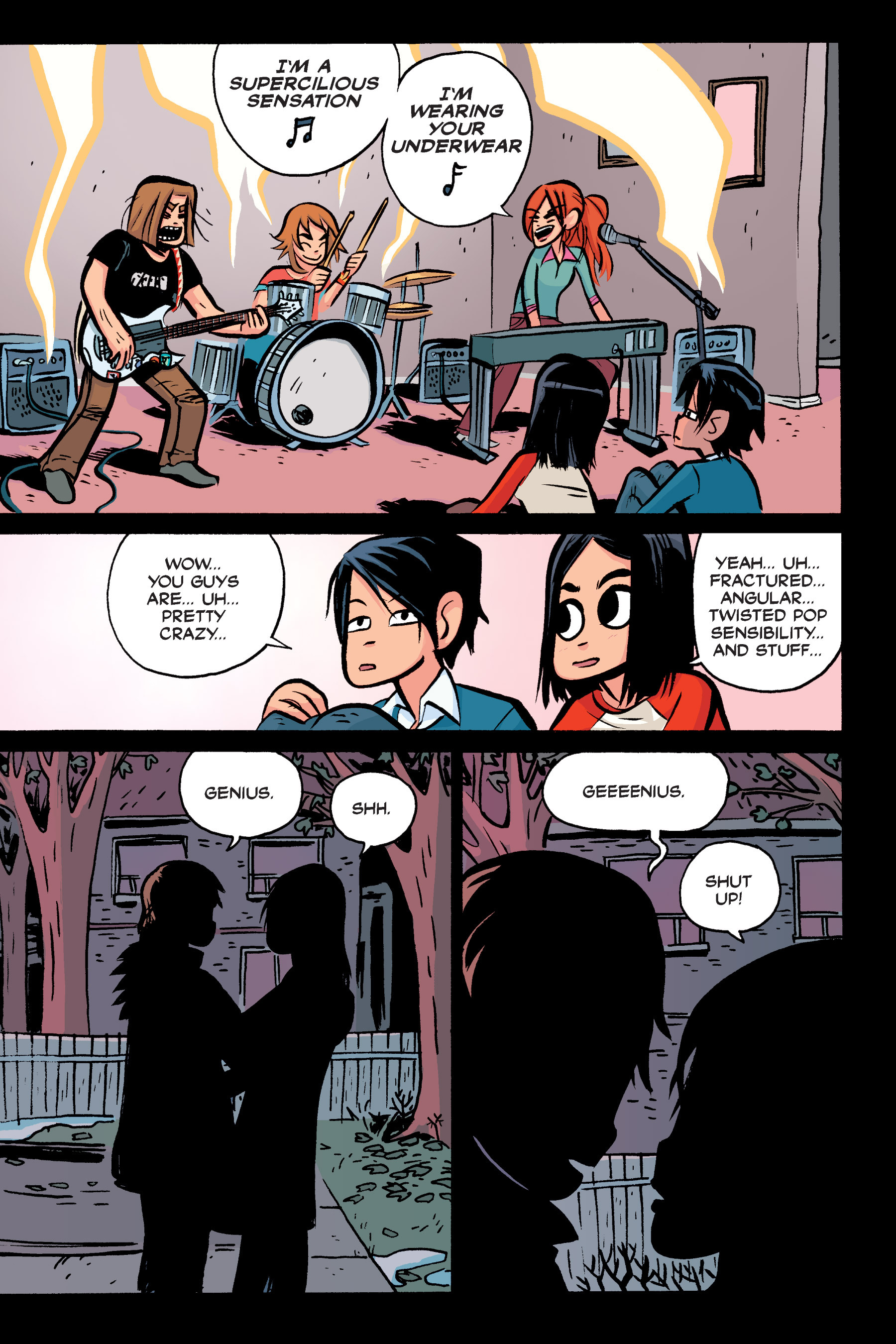 Read online Scott Pilgrim comic -  Issue #3 - 37