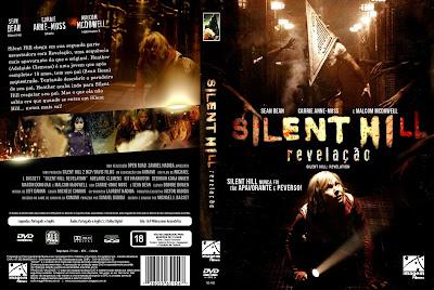Capa DVD Silent Hill Revelação