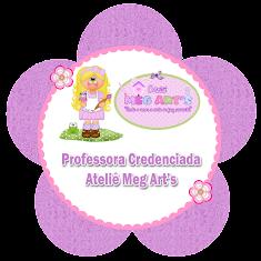 Professora credenciada Ateliê Meg Art's