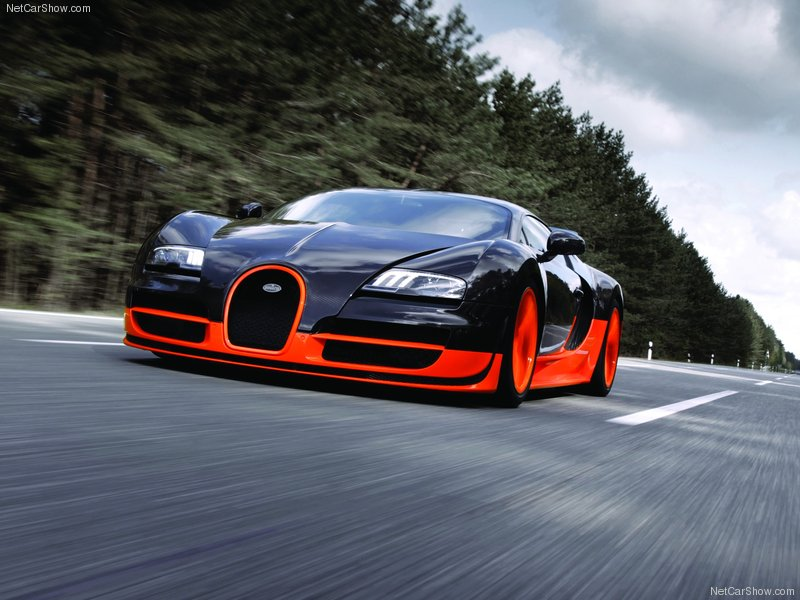 2011 Bugatti Veyron Supersport