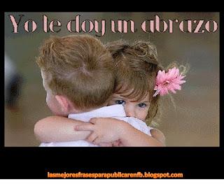 Frases De Amor: Yo Le Doy Un Abrazo