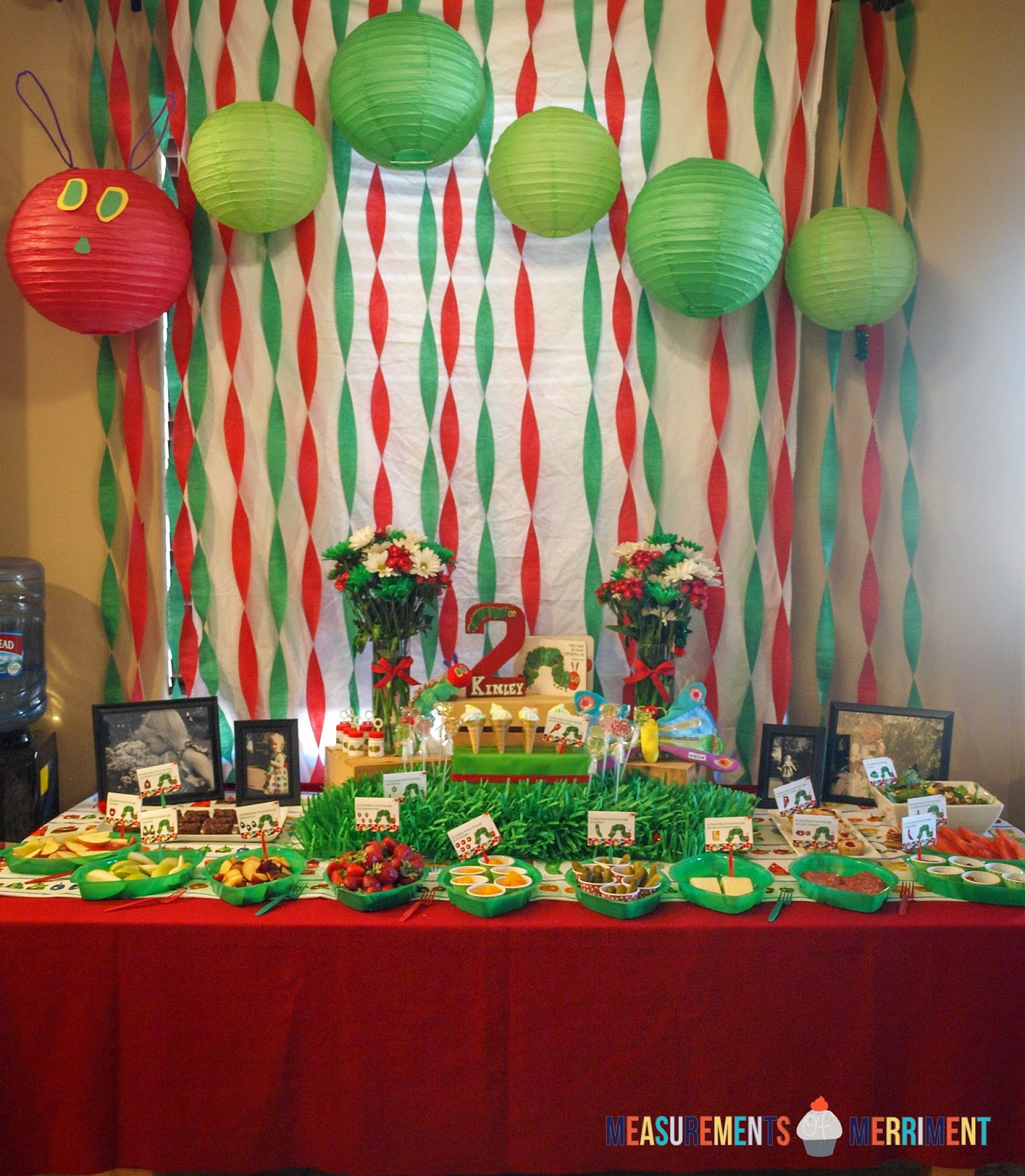 Measurements of Merriment: A Very Hungry Caterpillar Birthday