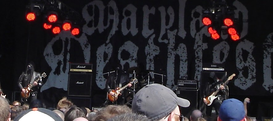 Mgla performing at Maryland Deathfest XII