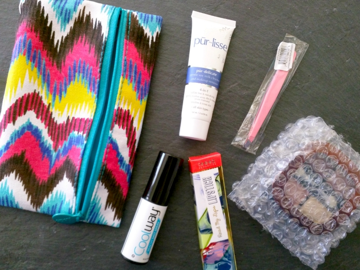 July 2015 Ipsy subscription bag review