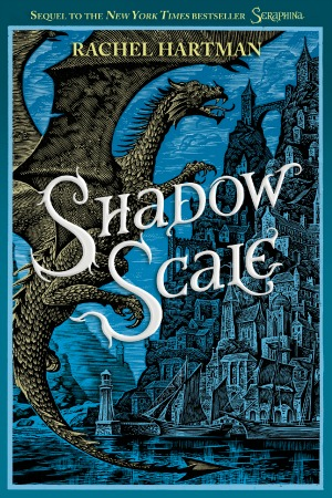 Review of Shadow Scale by Rachel Hartman: Remember the scary half-dragon locked in the cottage in book one? Well, she's back! And she's PISSED.
