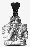 Lecito con decoración en relieve del rapto de Europa, hacia 350-300 a.C. procedente de Atenas. Museo del Louvre