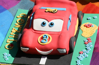 tarta de cars