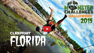 Monster Challenges Halloween 2015 - Monster Challenges Clermont Florida 2015 - Train for Obstacle Course Race - Beachbody and Obstacle Course Racing