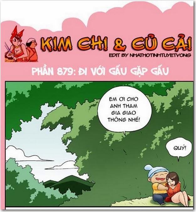 Kim Chi Củ Cải phần 879 - Đi với gấu gặp gấu. Kinh nghiệm khi gặp gấu