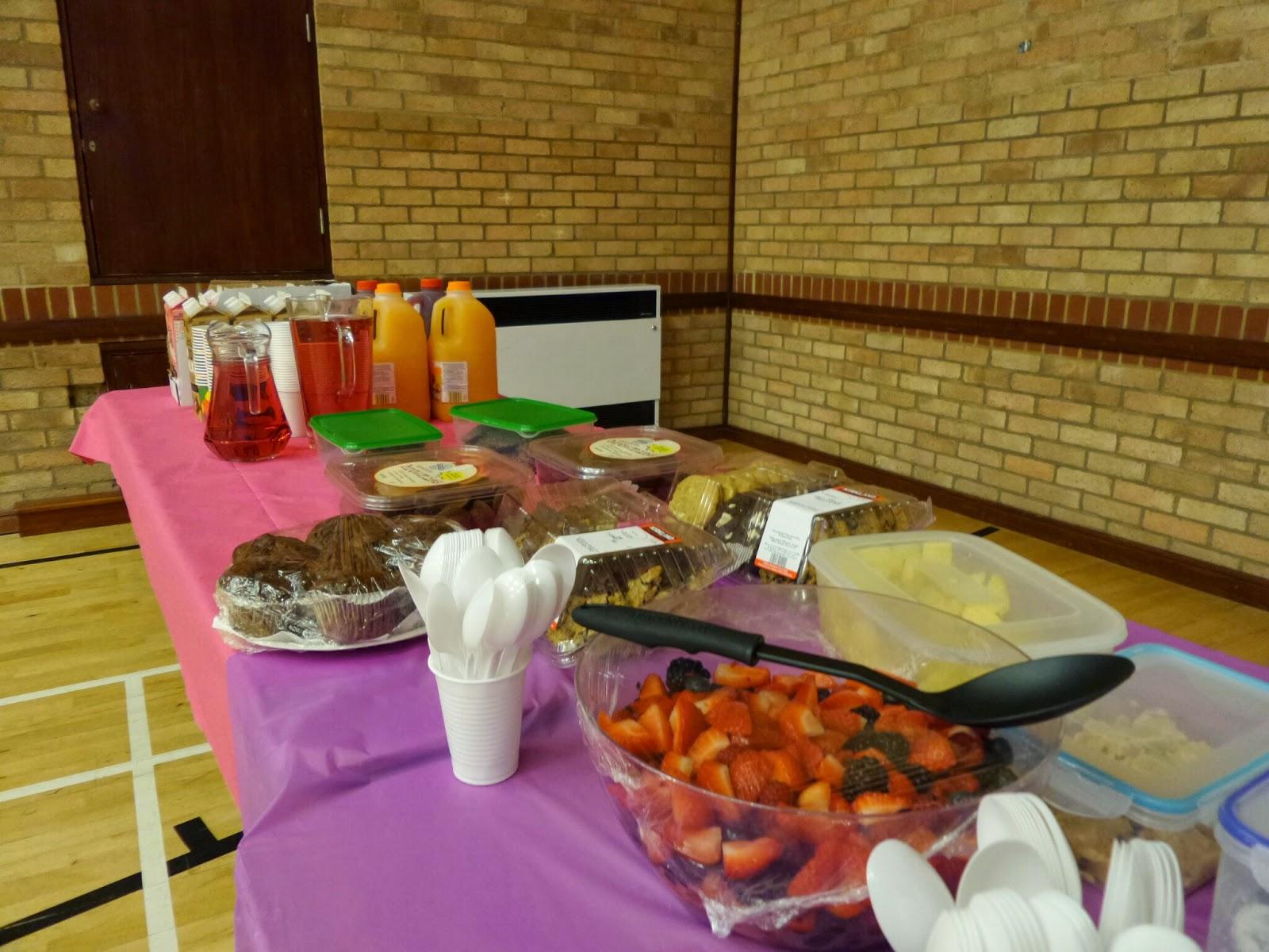 Dessert Table at LDS Baptism