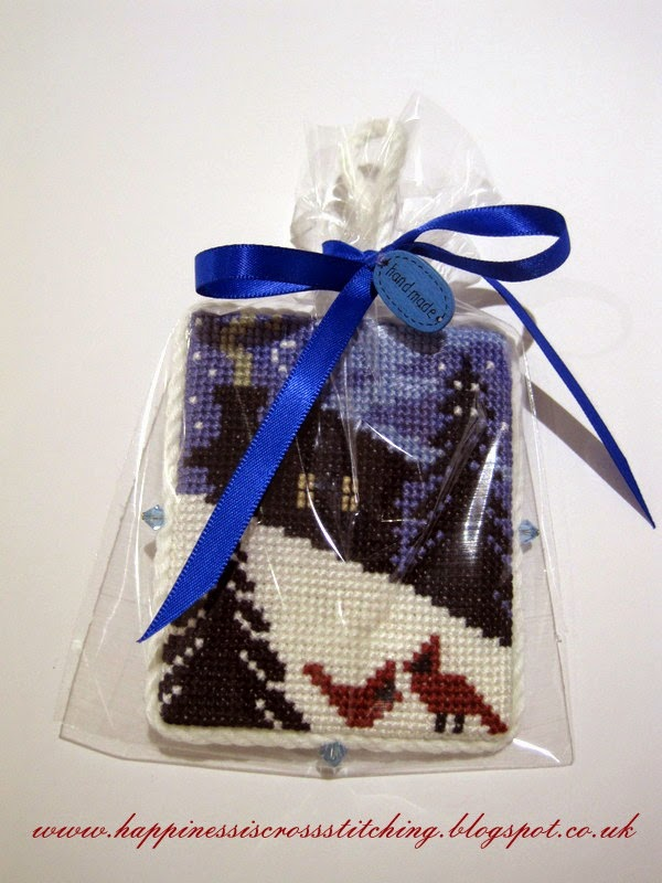Lynn B christmas cross stitch finishes