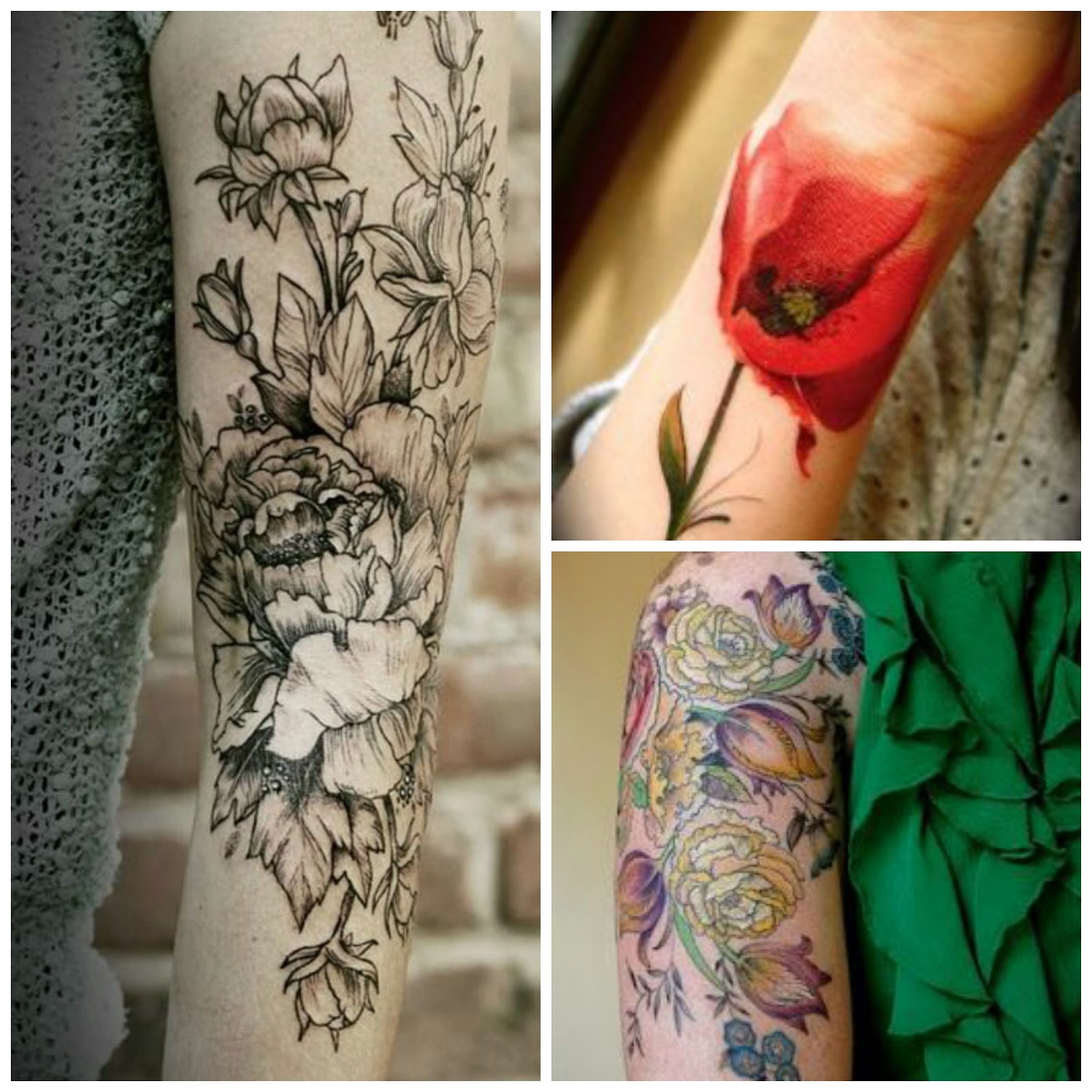 Tattoo Trends - Flowers