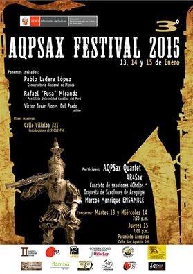 AQPSAX FESTIVAL 2015