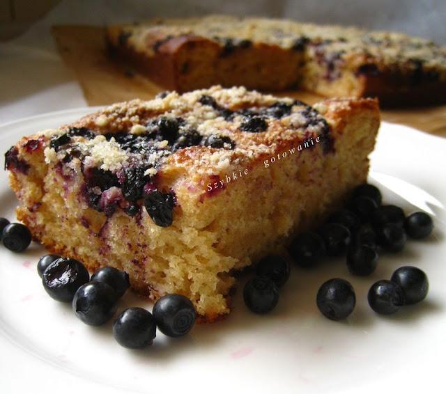 Orkiszowe ciasto drożdżowe bez wyrabiania - odchudzona wersja