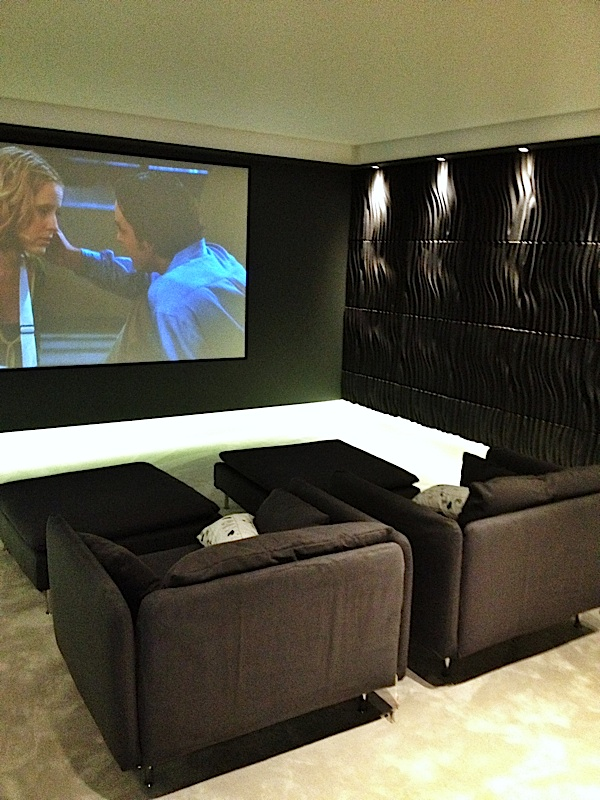 Av Installation By M E G A London Uk Kensington Media Room Completed