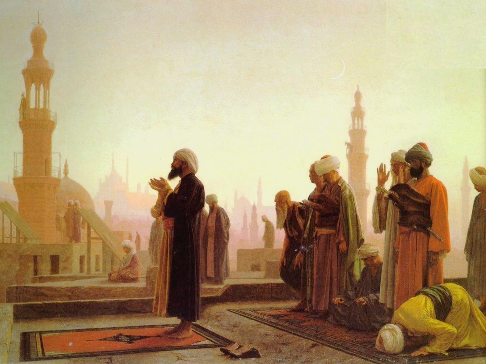 painting-old-times-muslims-praying.jpg