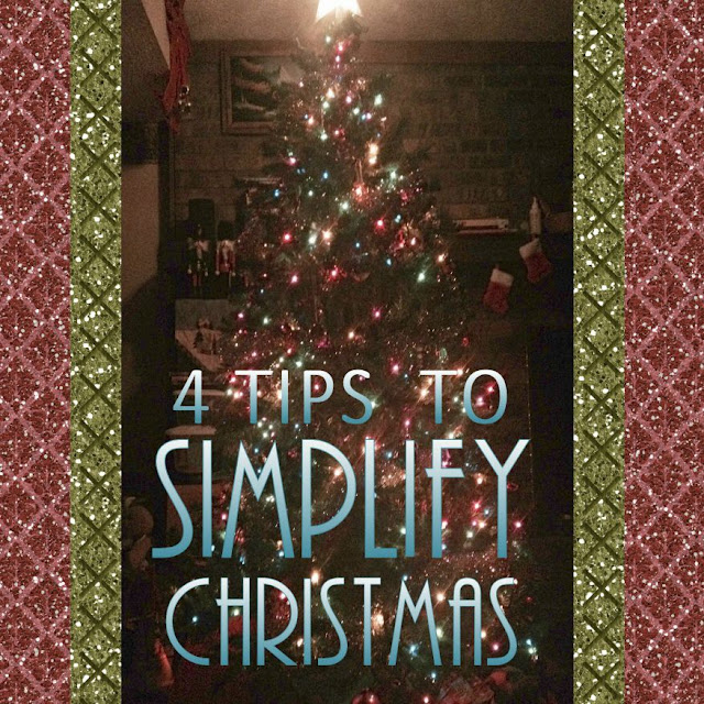 Now that I am a working Mom I have to release my expectations. My Christmas does not need to be Pinterest Perfect. Tips to Simplify your Christmas.