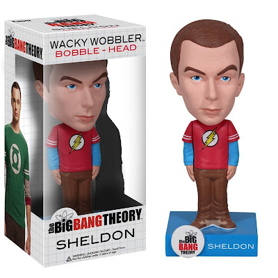 The Big Bang Theory Bobble Heads by Funko - Flash T-Shirt Edition Sheldon Cooper