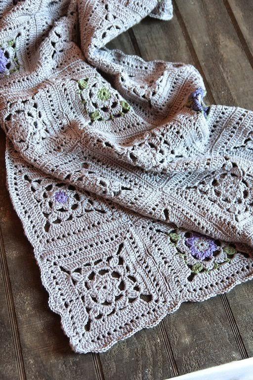 http://italiandishknits.com/2014/01/21/crochet-squares-throw/