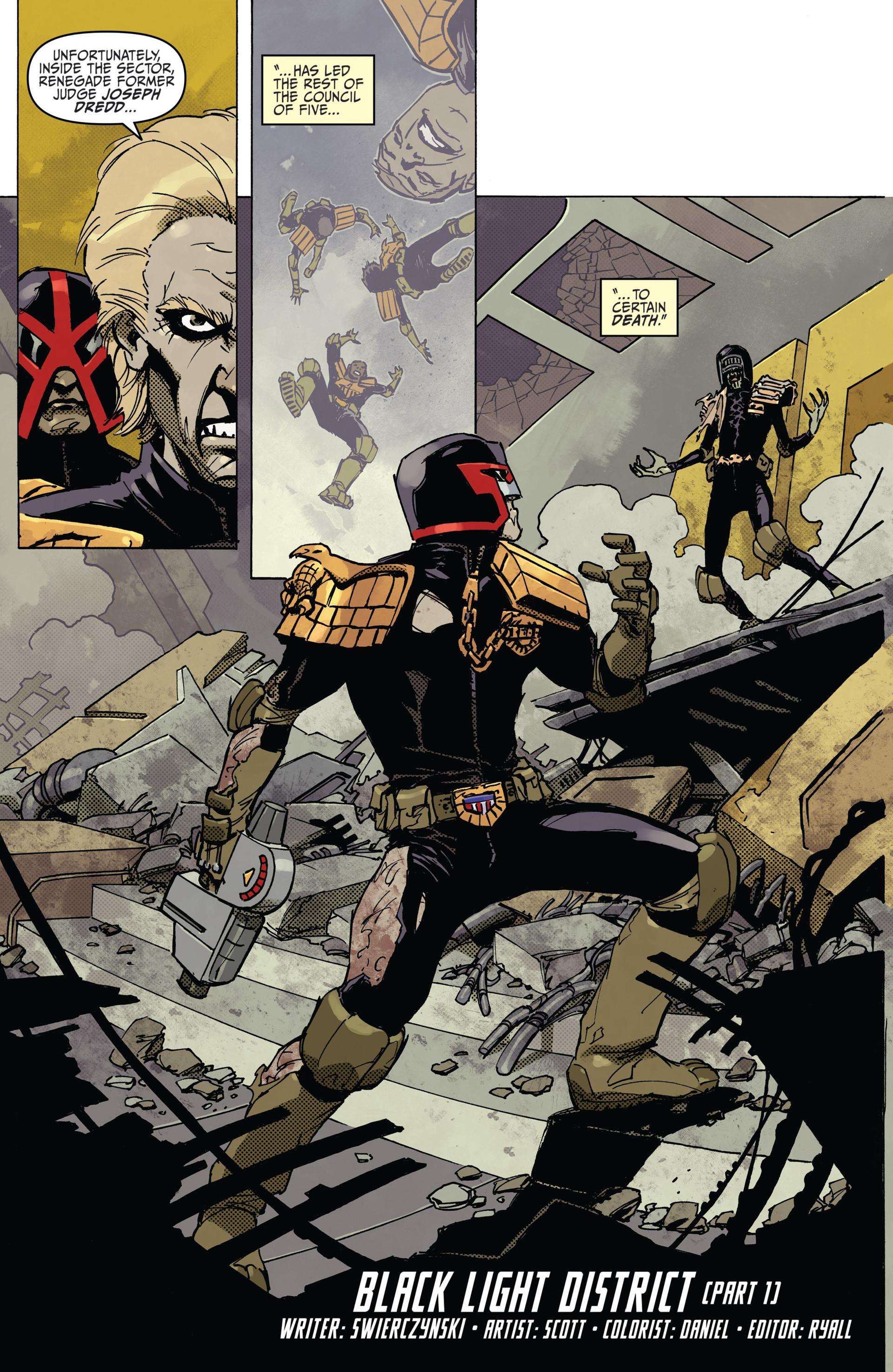 Read online Judge Dredd (2012) comic -  Issue #22 - 4