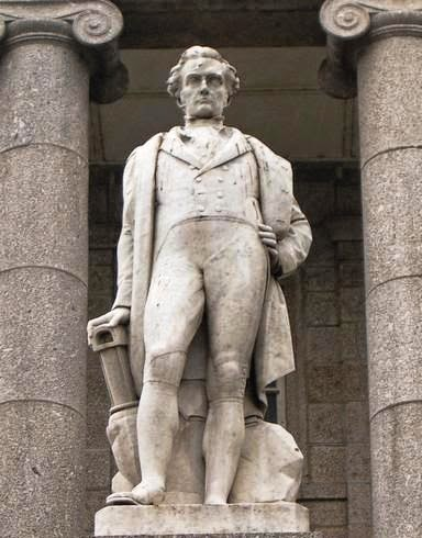 Sir Humphry Davy  Statue photo