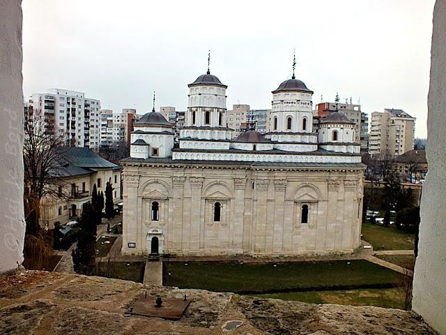 biserica vedere turn golia iasi