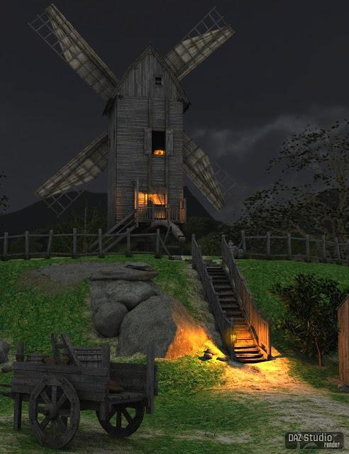 3d Models - The Windmill