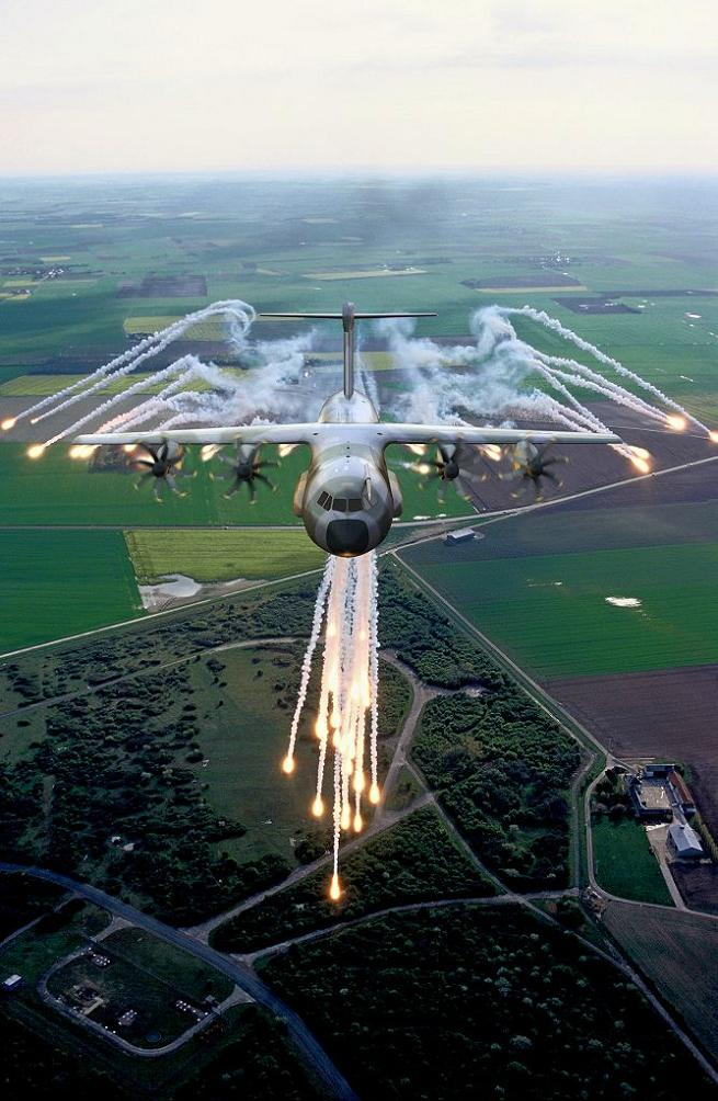 Airbus A400M Atlas The Airbus A400M Atlas, is a multi-national four-engine turboprop military transport aircraft. Airbus A400M Atlas was designed by Airbus Military as a tactical airlifter with strategic capabilities. The aircraft's maiden flight,