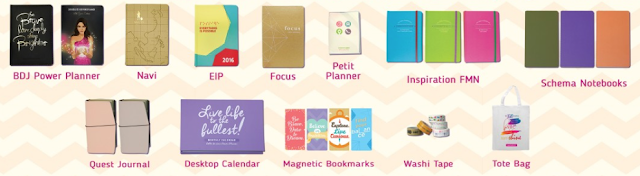 Plan 2016 with BDJ Planners!