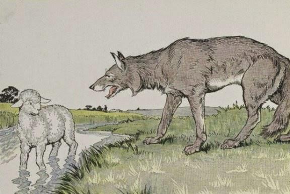 Sobre carneiros e lobos