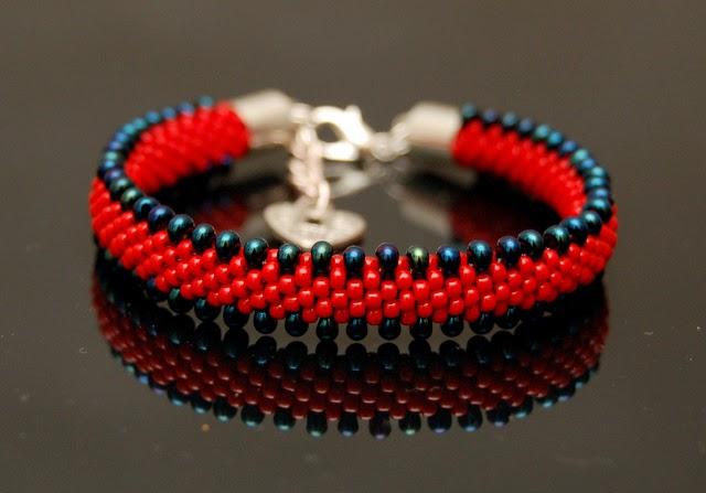 bransoletka koralikowa bead crochet bracelet inati zare 2