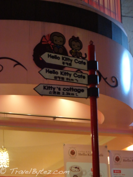 Hello Kitty Cafe, Hongdae (Seoul)