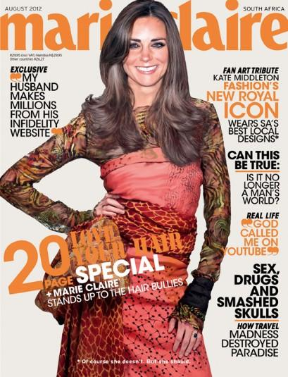 Kate Middleton: Not Really Featured on Marie Claire Cover! » Gossip | Kate Middleton