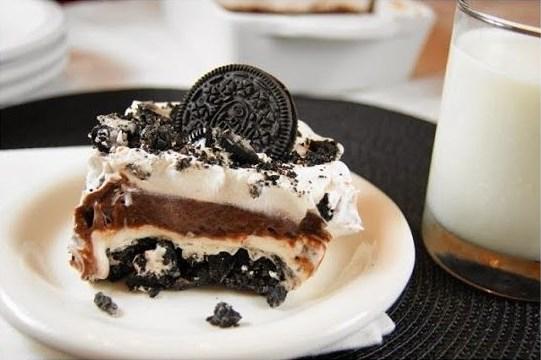 Cake keju Oreo Kukus