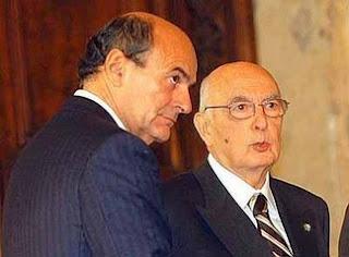 napolitano bersani2 Perché Napolitano deve scaricare subito Bersani