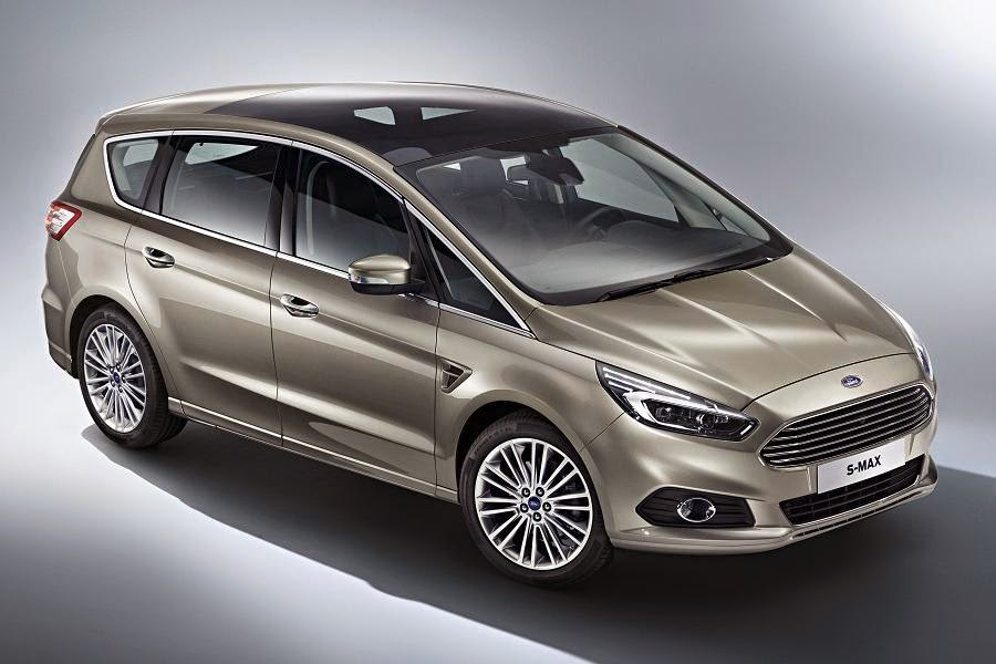 Ford S-Max (2015) Front Side 2