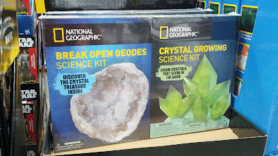 National Geographic Science kits include Break Open Geodes Science Kit and Cyrstal Growing Science Kit