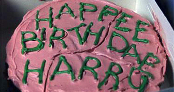 Feel LOVD Everyday What I Made Wednesday A Harry Potter Birthday