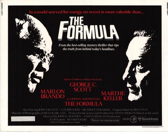 """The Formula"" (1980)"