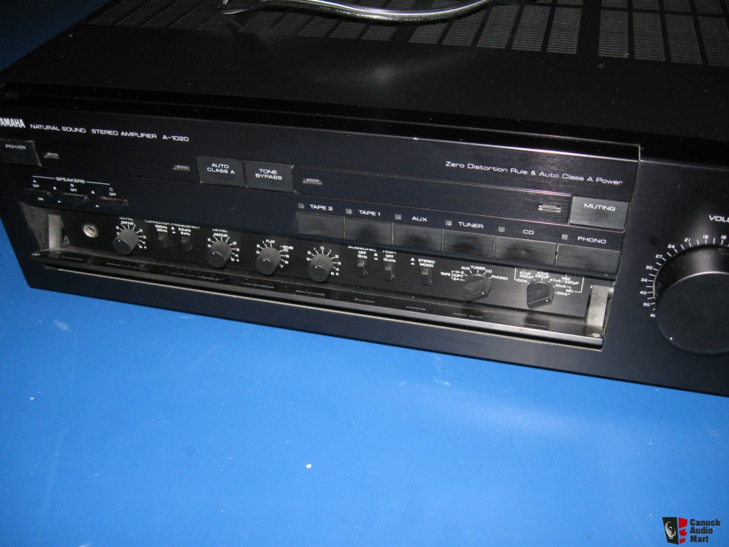 Yamaha a 1020 integrated amplifier audiobaza for Yamaha audio customer service