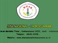 Profil STIA Nasional Lhokseumawe